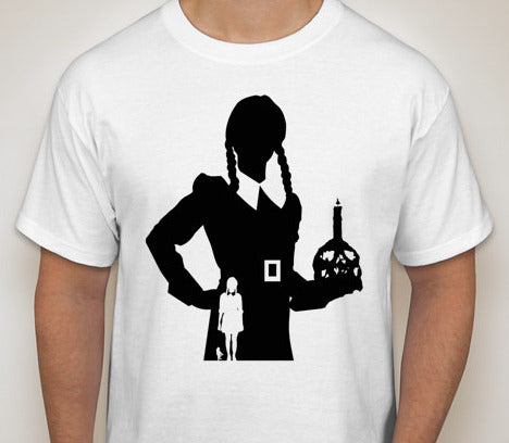 Wednesday Addams Silhouette T-Shirt