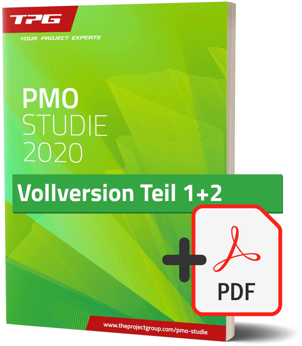 PMO-Studie Vollversion, Teil 1+2 (Buch + PDF)