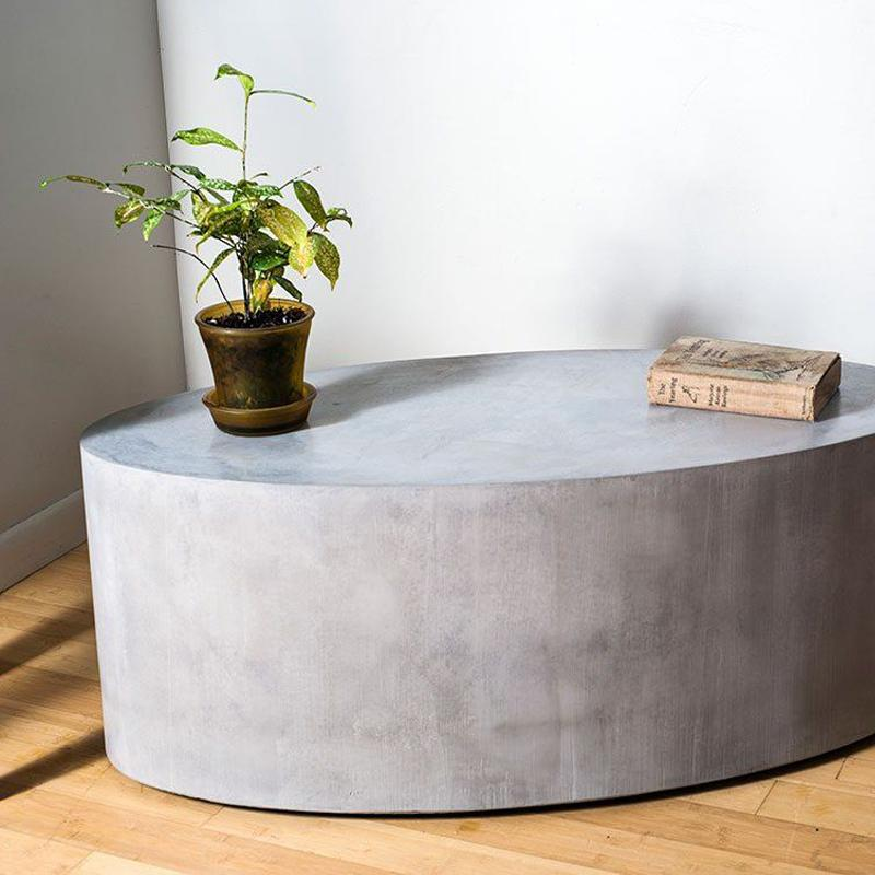 Elliptical Roller Multi-Purpose Concrete Table