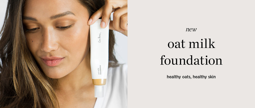 all about this beauty: new oat milk foundation
