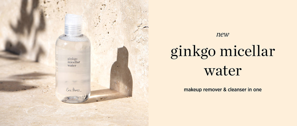 all about this beauty: ginkgo micellar water