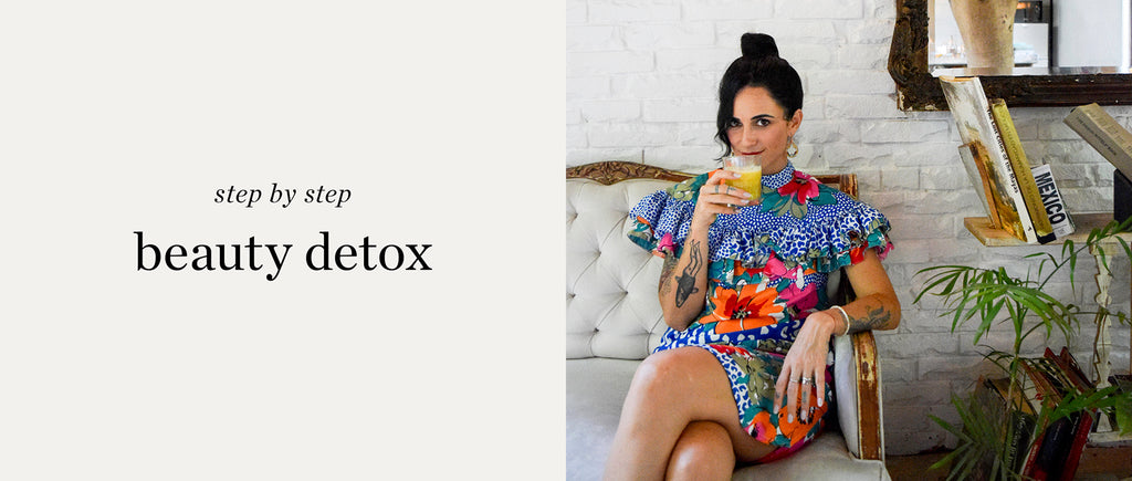 how to start a beauty detox