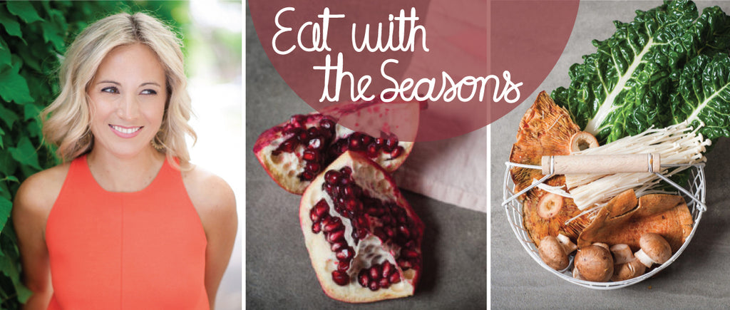 Zara D'Cotta: Six reasons to eat with seasons
