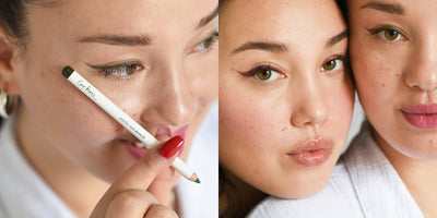 how to create a winged eyeliner look
