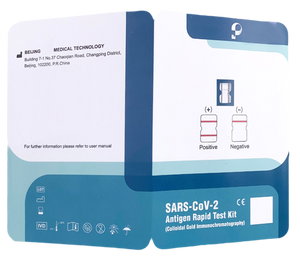 SARS-CoV-2 Antigen Rapid Test - 10 Tests Kit For Home And Office Use