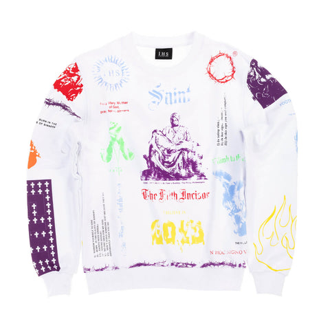 COLORFUL MANIFESTO SWEATSHIRT
