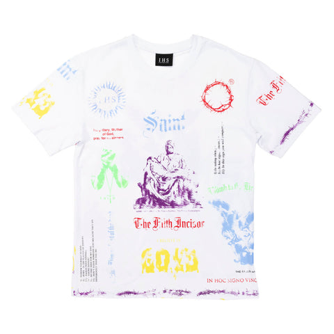 COLORFUL MANIFESTO TEE
