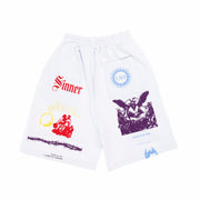 COLORFUL MANIFESTO SHORTS