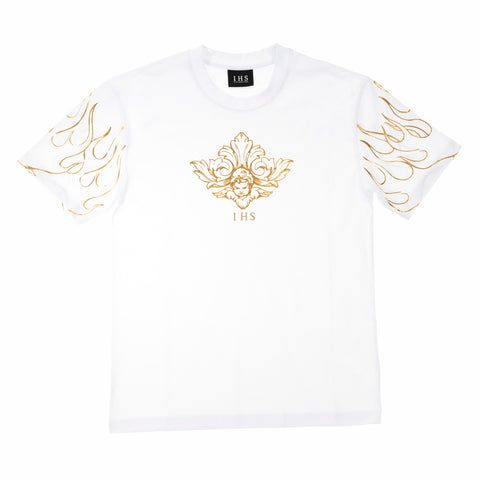 3D PRINT FLAMES & ANGEL TEE