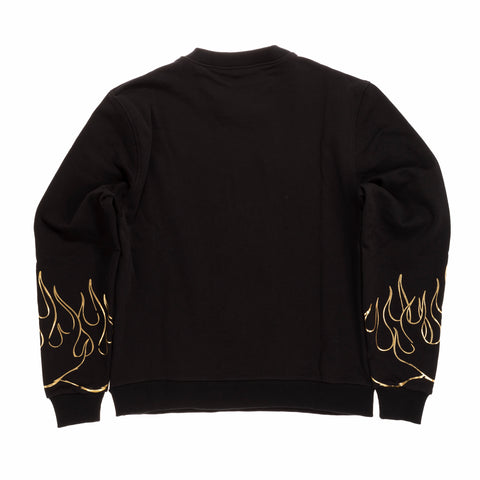 3D PRINT FLAMES & ANGEL SWEATSHIRT