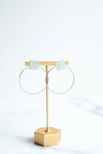 Load image into Gallery viewer, Hula Hoop Dangle Earring