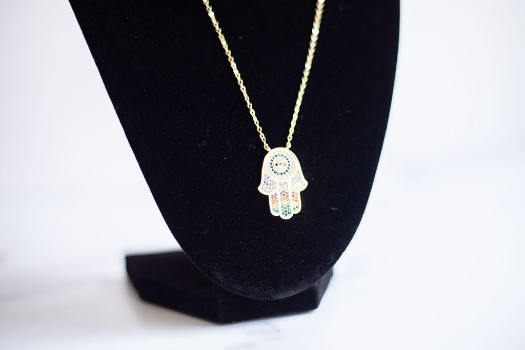 Hamsa Hand of Protection Pendant