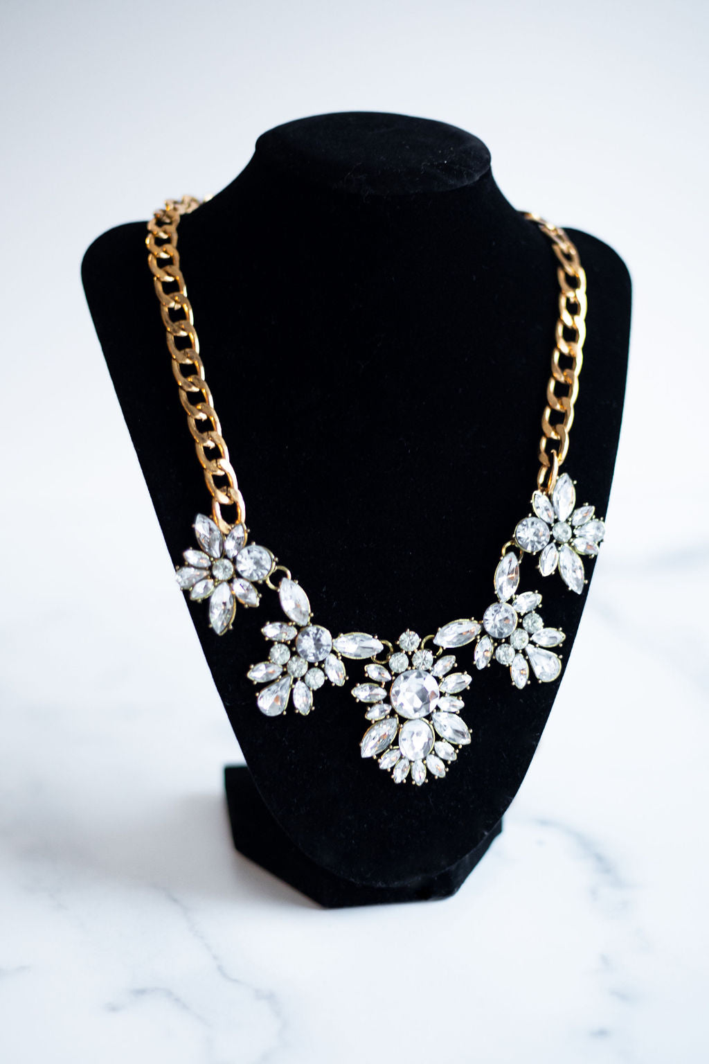 Bohemian Floral Necklace
