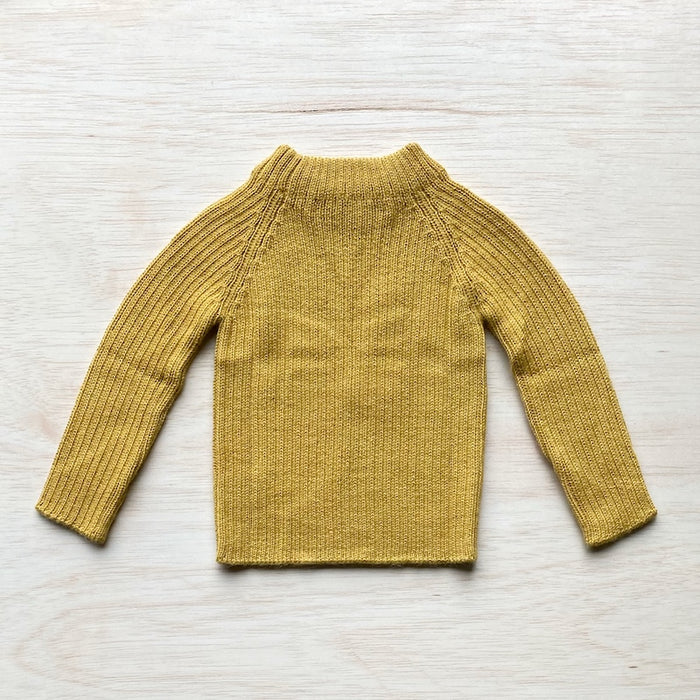 Joe Rib Sweater - Amber