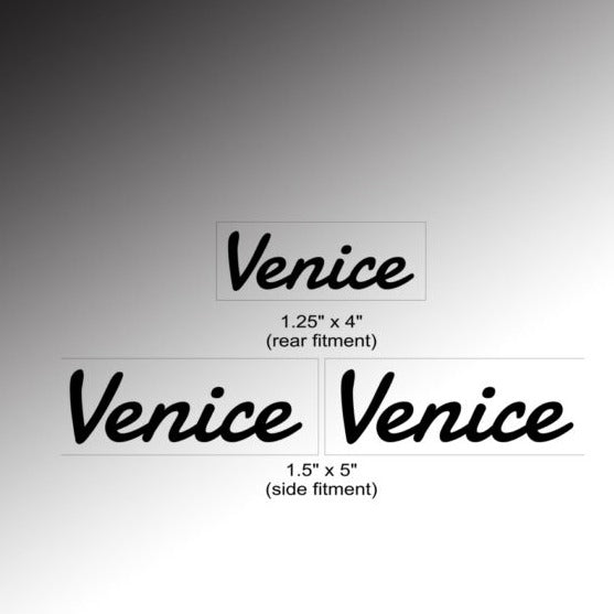 Venice Logo Decal Set