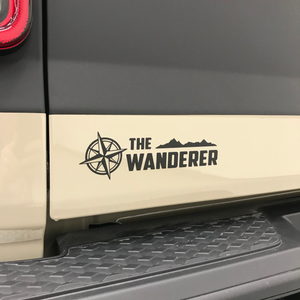 "The Wanderer Rubicon Kit: w/Dragon Fire Red 1/4"" Outline"