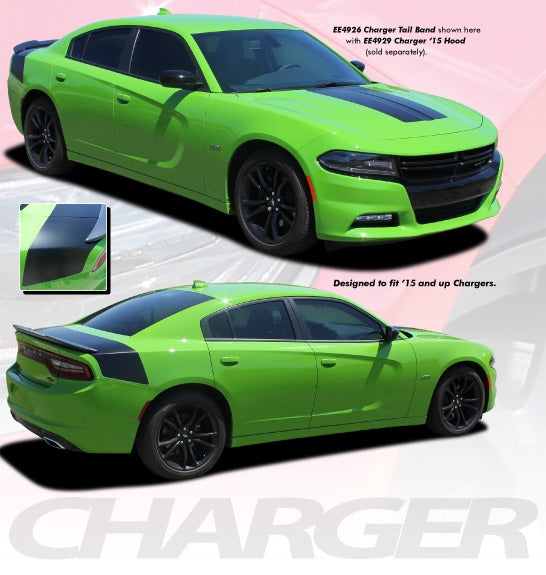 Dodge Charger Rear Graphic Design 3M TAILBAND 15-21