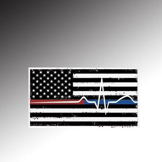 American Flag red thin/blue thin/EMS
