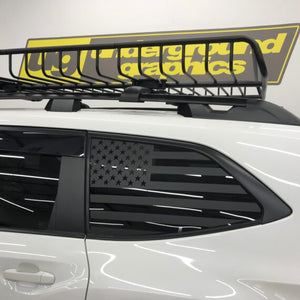 Rear Window Flags – Subaru Ascent