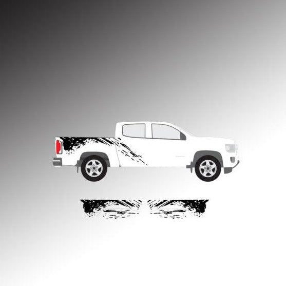 GMC Canyon / Chevy Colorado Mud Graphic
