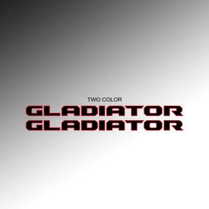 Gladiator Hood Text (2 color)