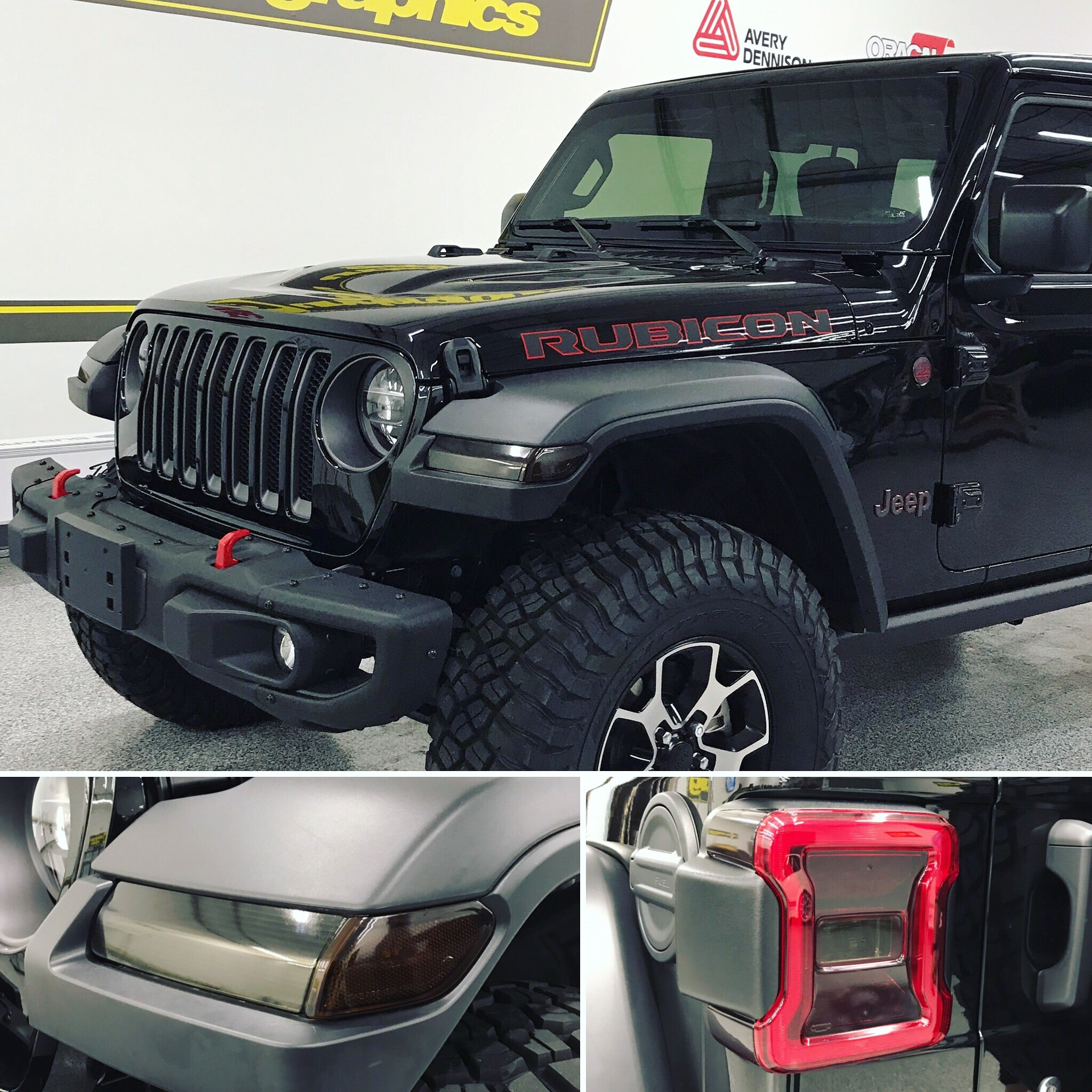 Jeep JL Smoked Tint Kit