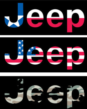 JEEP JT Badge Inserts