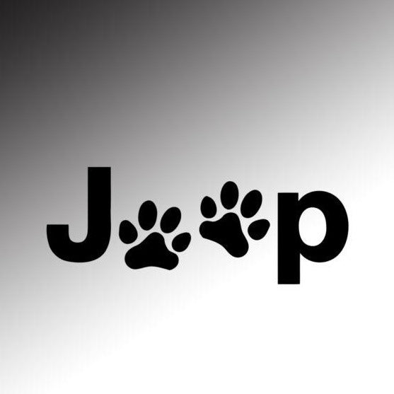 Jeep dog paws