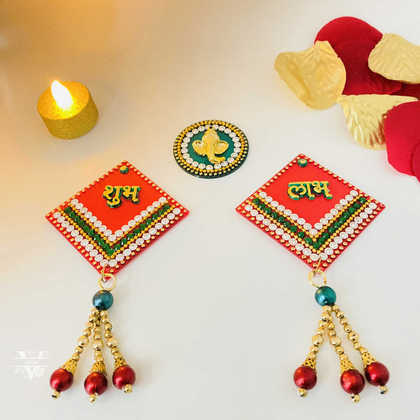 Shubh Labh I Home Decor I Side Door Hanging  I Diwali Decoration I Vruts