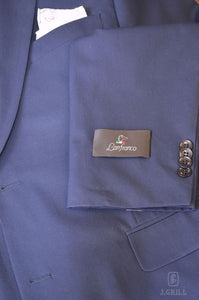 London Fit French Blue, 2-Pc. Suit