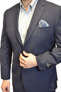 London Fit Navy, 2-Pc. Suit