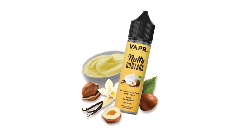 Nutty Custard - VAPR. SCOMPOSTO 20ML