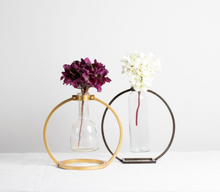 Load image into Gallery viewer, Cassia Brass Bud Vase