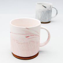 Load image into Gallery viewer, Morning Glory Marble Mug