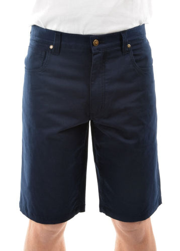 Thomas Cook Jake Comfort Waist Shorts Navy, from Harley & Rose