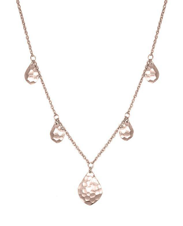 Aleah Rose Gold Necklace by Nicole Fendel available at My Harley and Rose