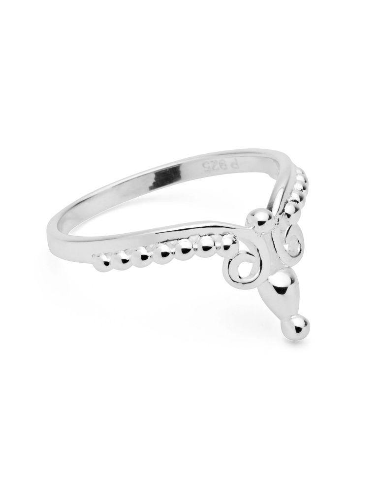 Wake into Dream Silver Ring by Pastiche available at My Harley and Rose