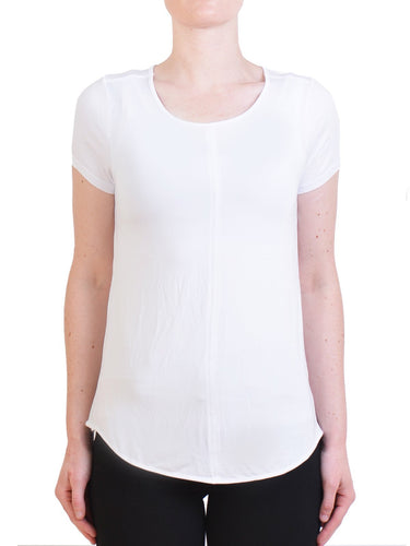 Tani Panel Tee White from Harley and Rose
