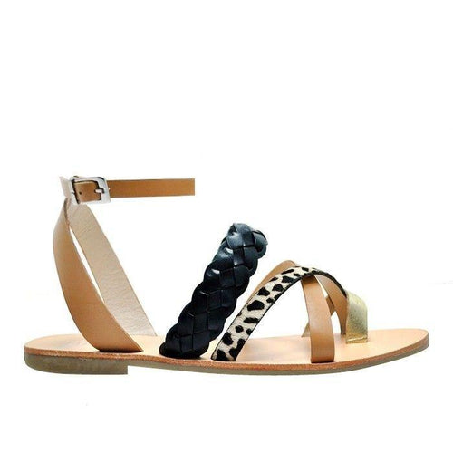 Nude Footwear Lindy Mono Mix Sandal available at My Harley and Rose