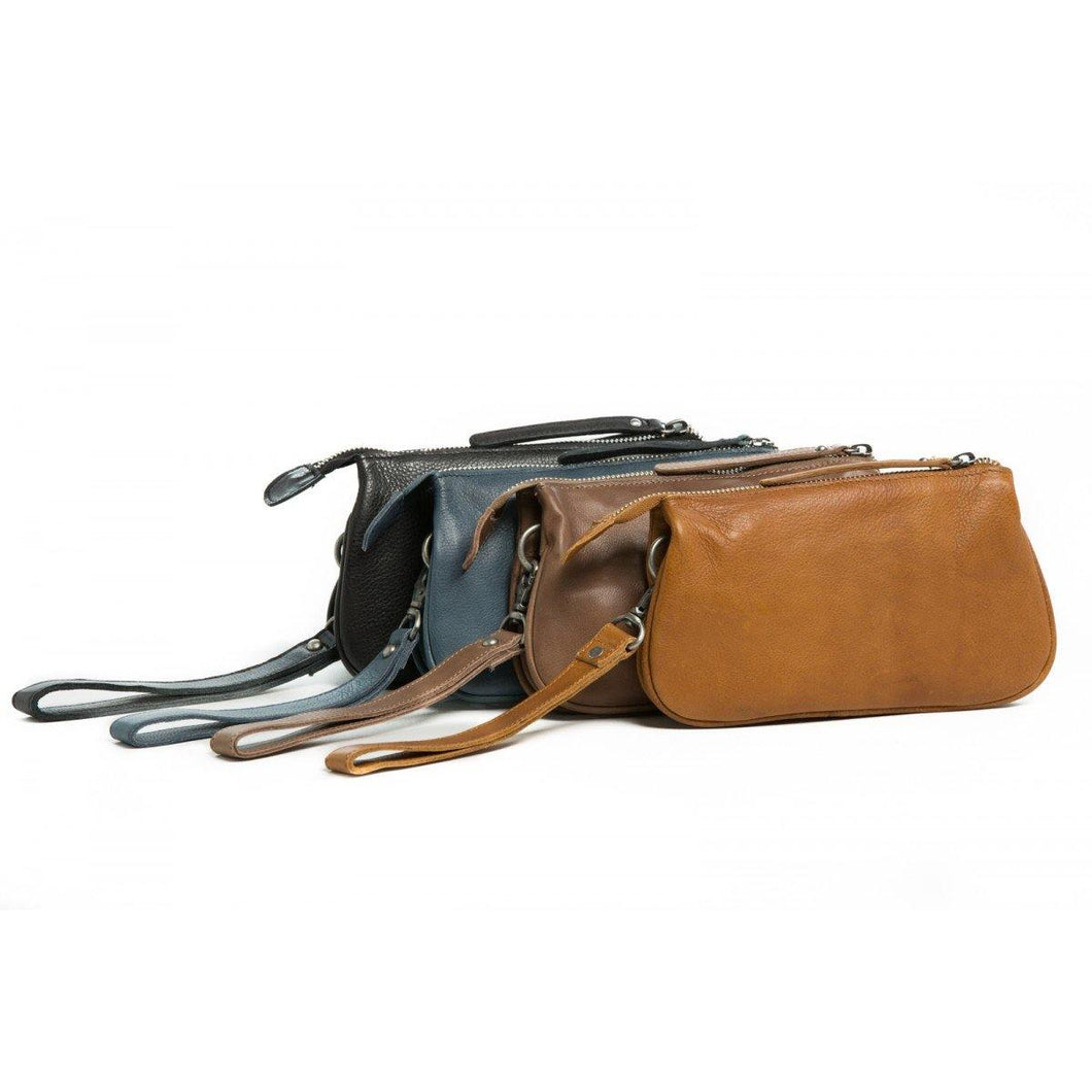 St Kilda Clutch/Wallet by Rugged Hide available at My Harley and Rose