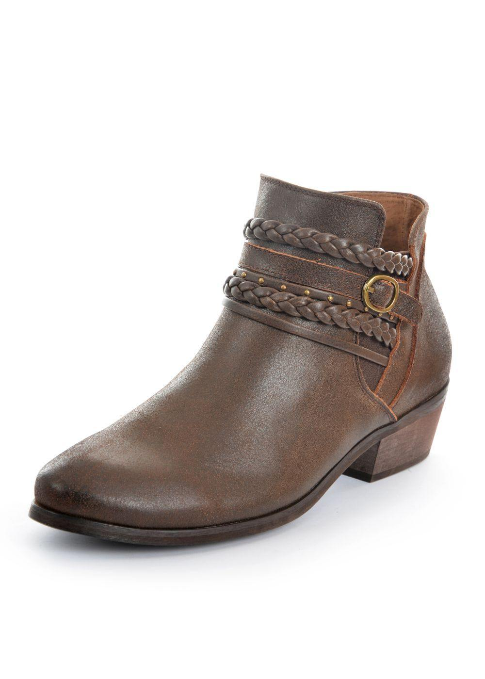 Thomas Cook Braid Boot - Harley and Rose