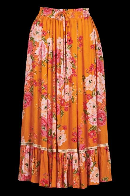 Isle Of Mine Marquis Maxi Skirt Calypso from Harley & Rose