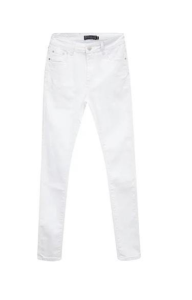 Country Denim Jeans Skinny White, from Harley & Rose