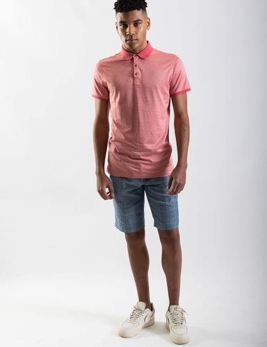 James Harper Coral Polo, By Harley and Rose