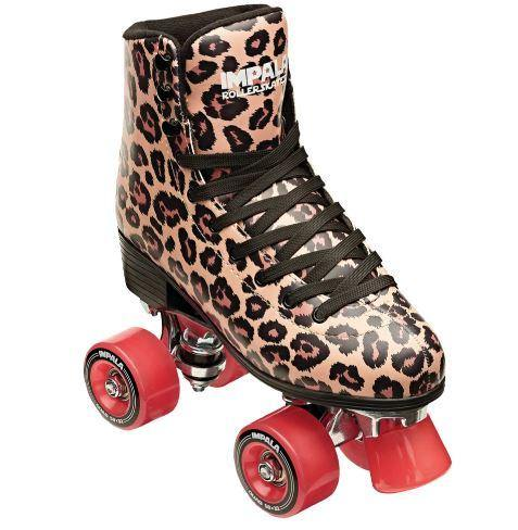 Impala Rollerskates Leopard available at My Harley and Rose