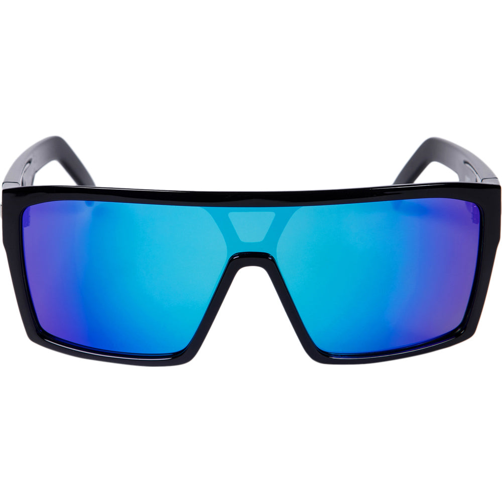 Unit Command Black Blue Polarised Sunglasses by Unit available at My Harley and Rose