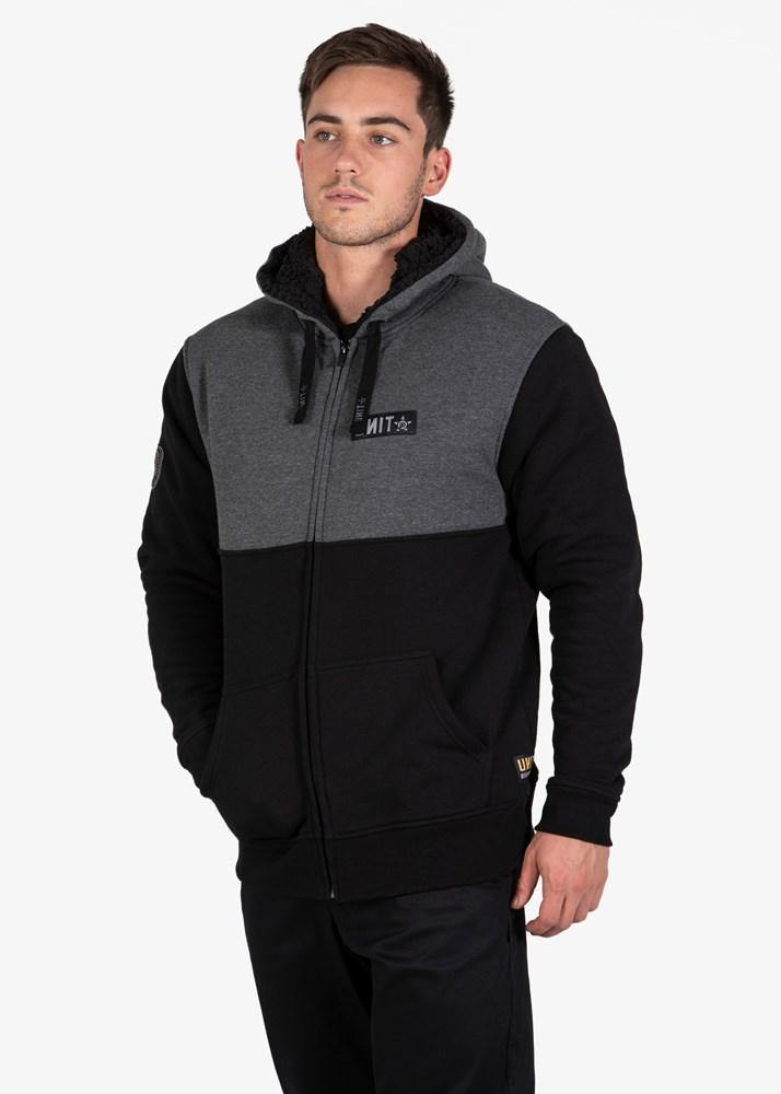 Unit Fleece Terrace Hoodie is available at My Harley and Rose