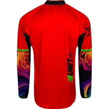 Load image into Gallery viewer, UNIT 2021 Canister Red Jersey available at My Harley and Rose