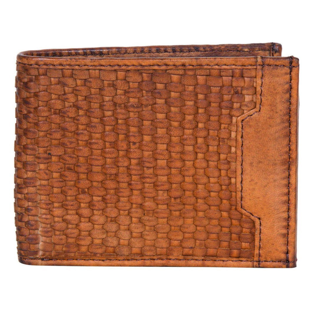 Slim Woven Gents Wallet by The Design Edge available at My Harley and Rose