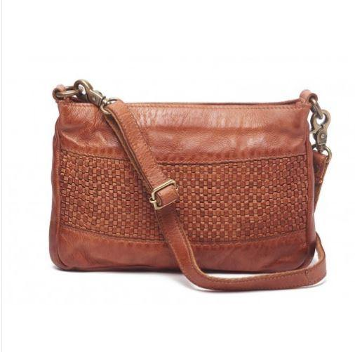 Amina Small Weave Bag by Rugged Hide available at My Harley and Rose